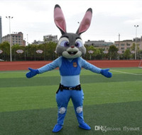 Wholesale Zootopia mascot costume Judy mascot costume Nick Fox mascot costume Rabbit Mascot Costume Cartoon Mascot Costume Movie Role