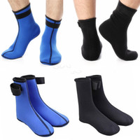 beach equipment - Hosiery for hosiery for men s and women s diving snorkeling beach swimming with thick socks Diving supplies and equipment blue black