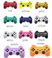 Wholesale Wireless Bluetooth PS3 Game Controller PlayStation Sixaxi Gmae Controllers Joystick for Android Video Games box NO retail box DHL Free