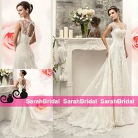 best online bridal gowns - 2016 Shop Best Selling Formal Wedding Dresses Online for Church Brides Wear Lace up Empire Beading A Line Cheap New Bridal Gowns Custom Made