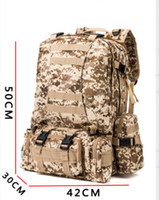 Wholesale Tactical Backpack Outdoor L D Molle Tactical Military Rucksack Backpack Trekking Bag Camping