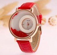 ball wristwatches - New Arrival Women Candy color wristwatches ball quicksand Wrist Watch for women Geneva watch CC240