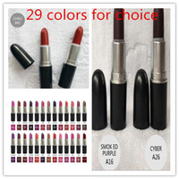 Wholesale 29 colors FrostSexy lipstick Lipstick HOT NEW M Makeup Luster Lipstick Frost Lipstick Matte Lipstick g lipstick