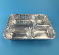 aluminum lunch containers - disposable aluminum foil container tray lunch box