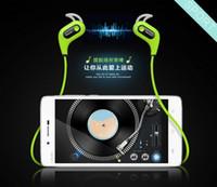 Wholesale 2016 NEW S6 Bluetooth Fashion Wireless Sports Headphones Mini Music Stereo Earphone Built in Microphone Water Sweat Proof
