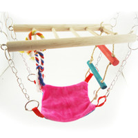 Wholesale Purple Star Hammock Playbridge Gerbil or Hamster Cage Pet Bird Toy
