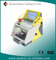 auto manufacture - 2016 new version key cutting machine by code sec e9 the best locksmith duplicator machine price in China manufacture