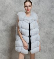 Wholesale Fur Vest Jacket Fox Mink Fur Coat Autumn and Winter Fashion Sleeveless Vest Autumn and Winter Coat Jacket
