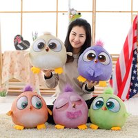 Wholesale 18cm Angry Birds Plush Toys Hold pillow Cartoon Stuffed Animalsl Plush Toys For Children Kids