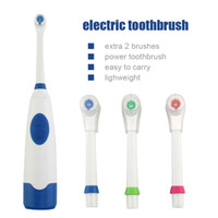 Wholesale New Adult Double Power Electric Toothbrush Degree Rotation Sound Vibration Waterproof Automatic Toothbrush With Heads