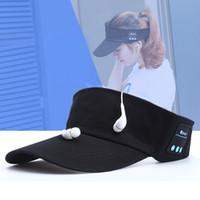 baseballs speaker - New Bluetooth Sports Baseball Caps Sun Hat Outdoor Wireless Smart Music Speaker Headphone Handsfree for Smart phone