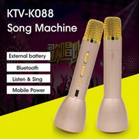 Wholesale Newest K088 Karaoke Player Wireless Bluetooth Speaker with Music Microphone Portable KTV Singing Sound OK Player