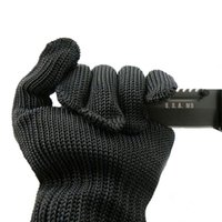 Wholesale Hot Selling Anti cut Anti slip Outdoor Hunting Fishing Glove Cut Resistant Protective Fillet Knife Glove Thread Weave Kevlar Gloves
