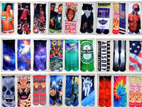 Cheap DHL 3d socks Star Wars kids women men hip hop socks cotton skateboard socks printed gun emoji tiger skull socks Unisex socks