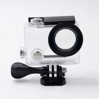 Wholesale Original EKEN H8 H8R K WiFi Action camera waterproof case H8R sports camera Accessories Underwater Housing shell diving M