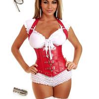 achat en gros de vêtements de latex xl-Latex taille Cincher Steampunk corset gothique vêtements amincissant bande ceinture modèle de corps faja reductora femme pour adelgazar korse