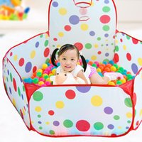 Wholesale A20 Folding Kids Ocean Ball Pool Portable Outdoor Indoor Child Toy Tent VBD80 T15