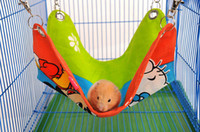 Wholesale Cute Cotton Hamster Hammock Suit For Rats House Habitats Hutches Or Storage Box Cage Ventilate Pet Cushion M Size Mix Color