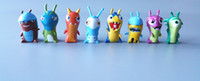Wholesale 8pcs a set small size poke mon Slugterra Cartoon Utopia Action Figure pvc Mini Models figure toys hot sale kids gift