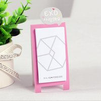 Wholesale 20pcs bts exo standee notes notepads