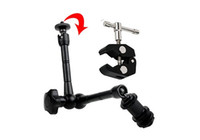 articulating lcd camera - 11 quot Inch Articulating Magic Arm Super Clamp for Camera Camcorder LCD LED Light Dslr Rig Movie Kit