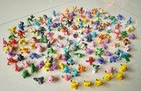 Wholesale 144pcs Poke Figures Toys cm Children cartoon Pikachu Charizard Eevee Bulbasaur Suicune PVC Mini Model Toys For kids Action Figures