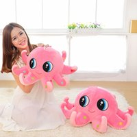 big blue octopus - Colors cm Piece Big Eyes Octopus Plush Toys High Quality Brinquedos For Kids Christmas Gift E199