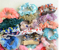 Wholesale Mix Colors Hair Rubber Bands Hair accessories For Hair Jewelry Gift HJ011