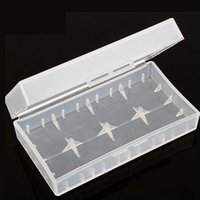 Wholesale Portable Carrying Box Battery Case Storage Acrylic Box Colorful Plastic Safety Box for Battery and Battery