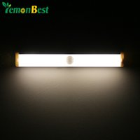 ac fridge - LED Wall Lights Magnetic Infrared IR Motion Sensor Night Light Auto On Off for Hallway Pathway Staircase Wall Fridge