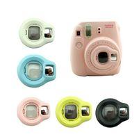 Wholesale Close Up Lens Rotary Self Shot Mirror For FujiFilm Instax Mini S Film Camera Colors Free DHL