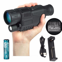 Wholesale Infrared digital Night vision monocular scope x40 for Meter zoom X IR MP digital camera video