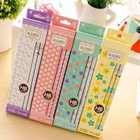 Wholesale Wooden Pencils Packs Pieces Pack Pencils For Children Stationery School Supplies For Kids Drawing Supplies Cute
