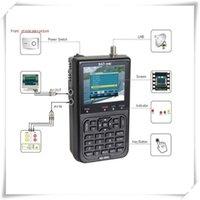 Wholesale 5pc riginal Satlink WS quot DVB S FTA digital satellite meter satellite finder ws satlink ws6906