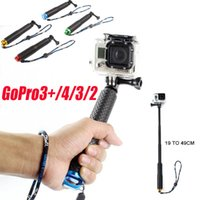 aee cameras - SP POV quot GoPro Selfie Stick self Pole Aluminum Handheld action Camera Monopod For Go pro Hero Xiaomi yi SJCAM AEE AS100v