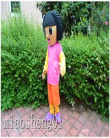 adult dora costumes - 2016 high quality Dora mascot Costume Adult costumes Halloween costume s Christmas party animal cartoon clothing adult size apparel charact