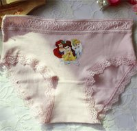 Wholesale Baby Girls Briefs Princess Underwear Kids Cute Cartoon Panties Children Soft Cotton Children Briefs Girls Panties Fast Shipping