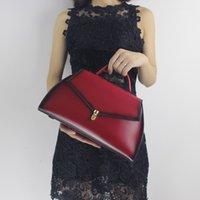 antique cell phones - Genuine leather women s handbag ladies vintage antique bag banquet one shoulder cross body handbag