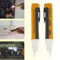 Wholesale 1AC D LED Light AC Electric Voltage Tester Pen Non contact Induction Detector Sensor V