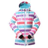 Wholesale New Women Skiing jackets Winter Sports Outdoor Jacket Womens Snowboard Snow Wear waterproof jacket windstopper parka hike