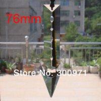 Wholesale 00pcs mm crystal sword prism trimming crystal chandelier parts crystal prism drop pendant for chandelier parts Chandelier Crystal