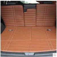 Wholesale for Hyundai Grand Santafe seats car trunk mat back cushion waterproof leather mat Grand Santa fe luggage pad