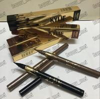 Wholesale Factory Direct DHL New Makeup Eye Kylie Eyeliner Liquid Eyeliner Waterproof Eyeliner Pencil Black Brown