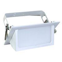 Wholesale 35W SMD LED Scoop light Rectangular Light Ceiling Version Recessed Mounted Downlight Scooplight Downlight Adjustable DHL