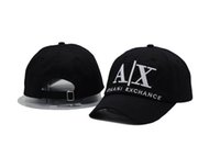 active ax - Hats New HOTLINEBLING Ball Cap Adjustable The letter AX Baseball caps Snapback Sun Hat Golf Hats Sports HATS