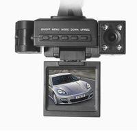 Precio de Cámaras de lentes de porcelana-Dual Lens Car DVR 2 pulgadas HD TFT cámara de vídeo de doble cámara 1086P Dash Cam espejos doble Tachograph HD visión nocturna