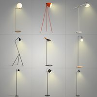 Wholesale Hot sell Nordic modern minimalist lamp IKEA creative personality fashion sofa in the living room study bedroom bedside lamp Floor Lamps