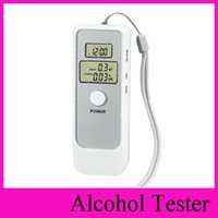 alcohol breath test detector - AD06 Dual Digital LCD Display Backlight Blood Alcohol Breath Tester with clock Alcohol Tester Breathalyzer Detector Test Testing