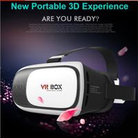 Wholesale 3D VR Glasses Virtual Reality glass Plastic Google Cardboard D VR BOX Rift Google Cardboard D Movie for quot quot iPhone s plus