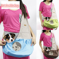Wholesale Canvas Small Dog Go Out Satchel Cat Flexible Backpack Pet Supplies Colors Available Best Sellers